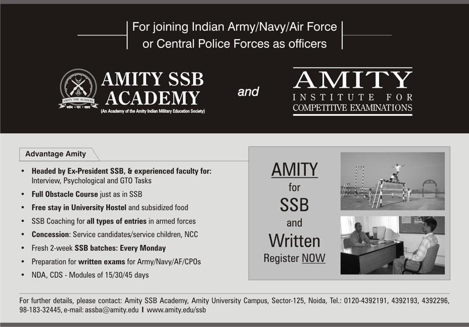 Amity SSB Academy
