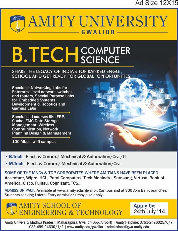 Gwalior - B.Tech CSE