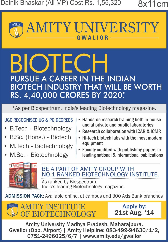 Gwalior - Biotech